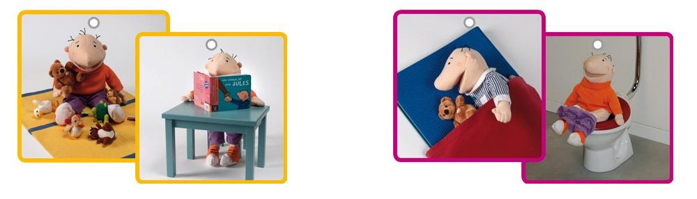 ontwikkelingsniveau van de kleuters - kaartenpakket van Jules
