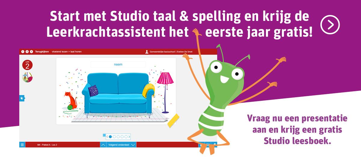Start met Studio taal & spelling